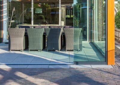 Alufox Houten Veranda Glazen Schuifwand