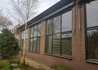 Alufox Kozijnen Schoolgebouw Antraciet