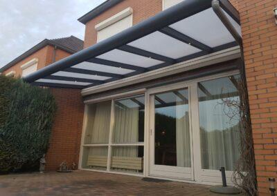 Alufox Overkapping Veranda A3 Zwevend geplaatst