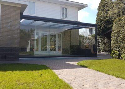 Alufox Schuifwanden Glas veranda uitbouw