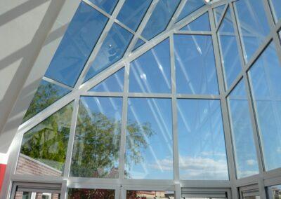 Alufox Serre Glas punt Binnenzijde 2