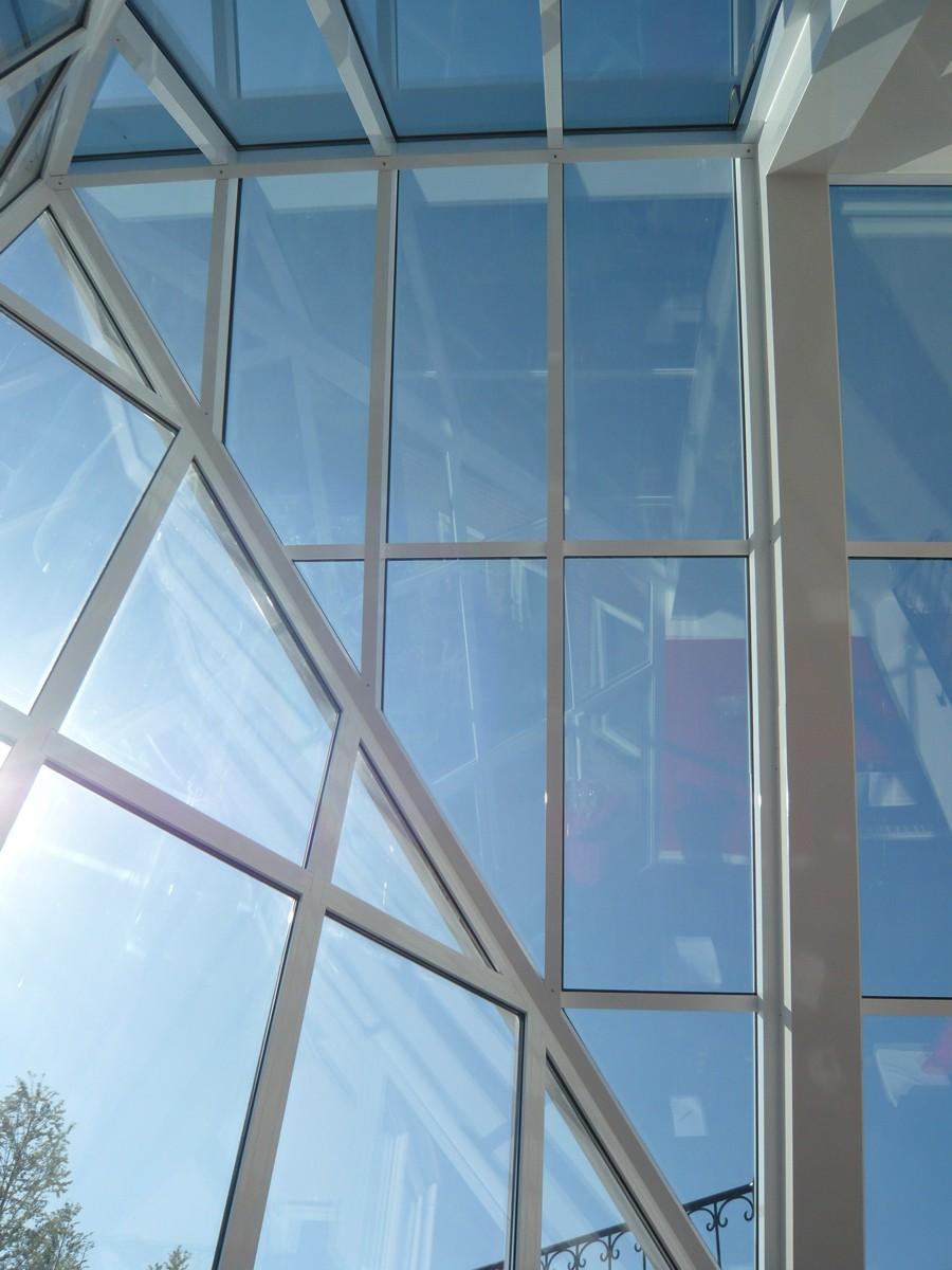 Alufox Serre Glas punt Binnenzijde 3