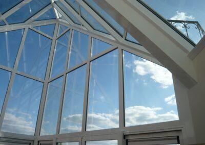 Alufox Serre Glas punt Binnenzijde