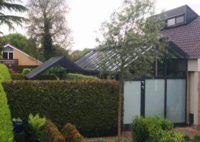 Alufox serre op maat geïntegreerd in woning met veranda 3