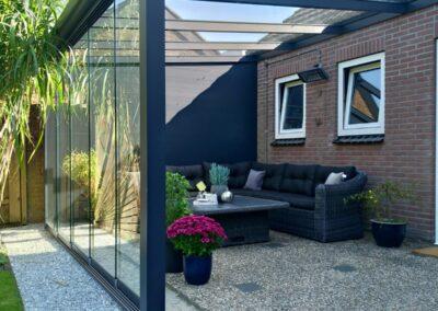 Glazen Tuinkamer Groningen glazen dak Alufox